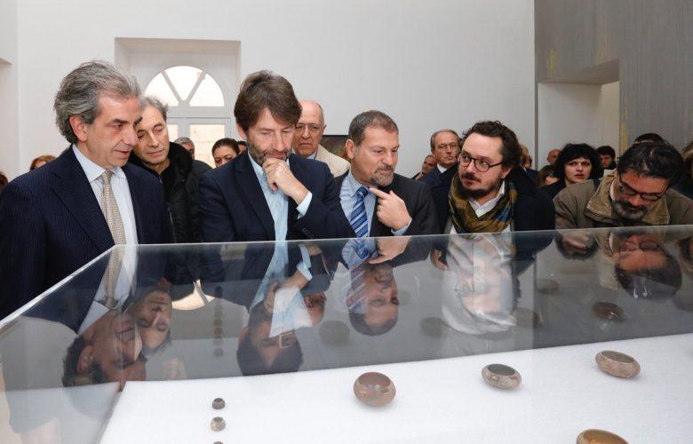 """Il ministro Franceschini all'inaugurazione """"Pompei@Madre. Materia Archeologica"""""""