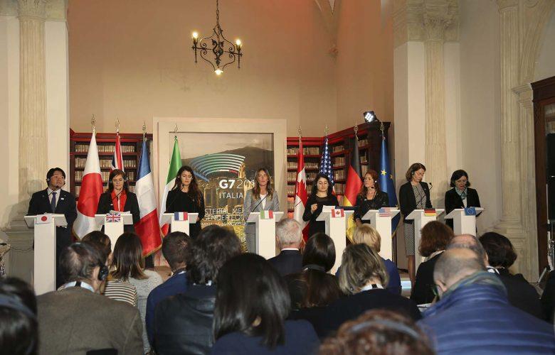 G7 Pari opportunità Taormina