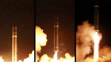La Corea del Nord ha pubblicato dozzine di foto giovedì della Hwasong-15, un nuovo missile balistico intercontinentale che sostiene di poter raggiungere qualsiasi obiettivo negli Stati Uniti continentali.