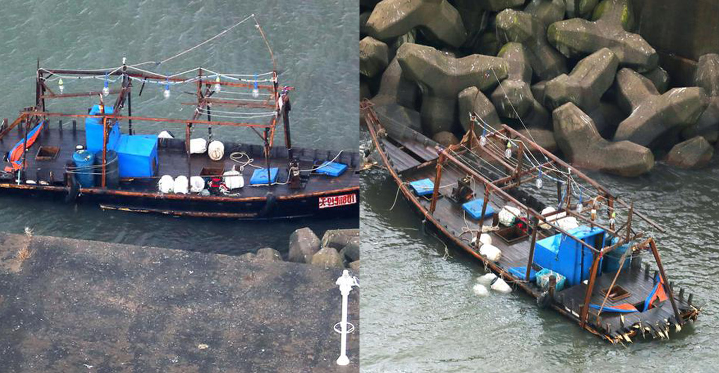 Giappone, la barca con gli otto scheletri ritrovati a bordo