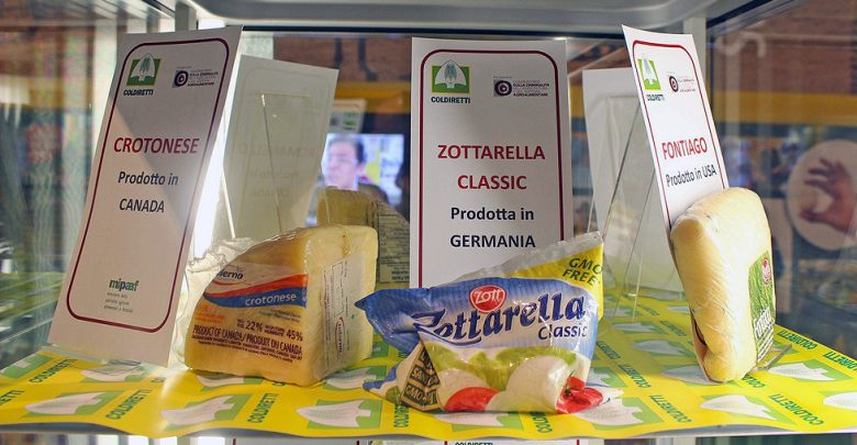 Il falso Made in Italy alimentare