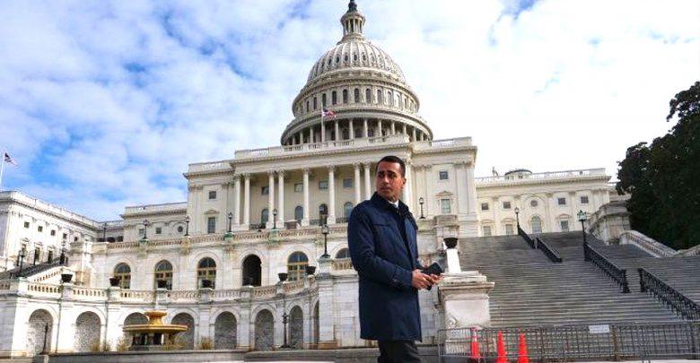 Luigi Di Maio a Washington