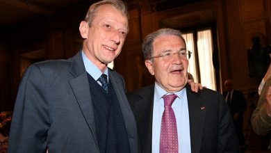 Piero Fassino e Romano Prodi
