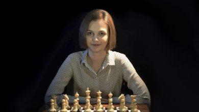 La campionessa di scacchi Anna Muzychuk