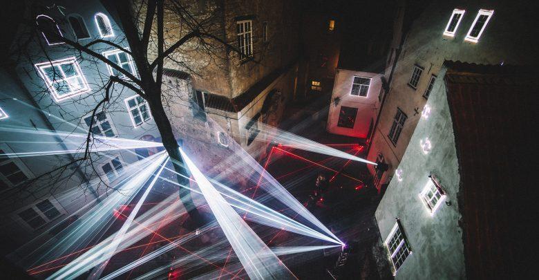 Area Odeon Laser Symphony (Foto di Rudolfs Liepins)