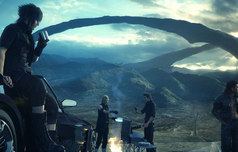 Final Fantasy XV camp