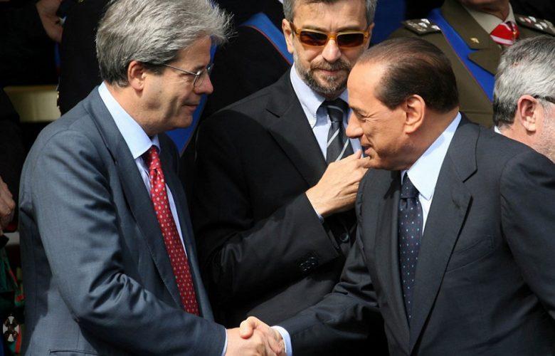 Gentiloni e Berlusconi