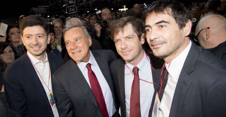 Speranza, Grasso, Civati e Frantoianni