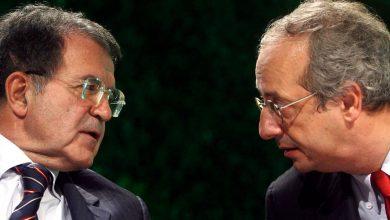 Romano Prodi e Valter Veltroni