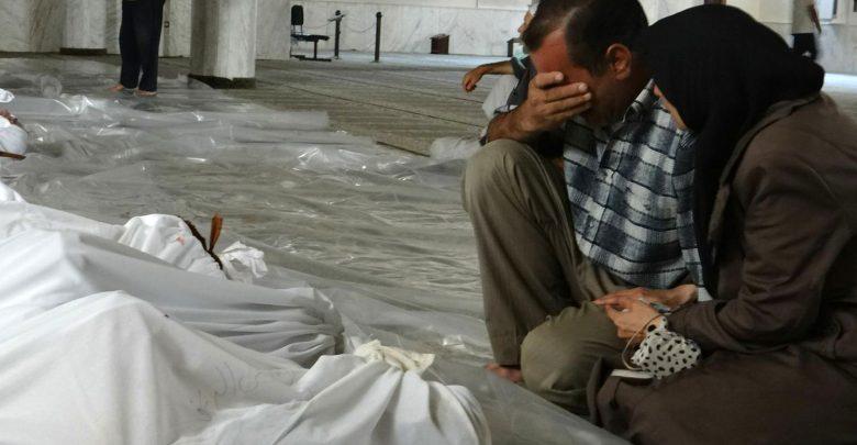 Attacco di gas tossico in Siria