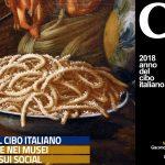 NAPOLI. PALAZZO REALE Giacomo Nani (1698-1755) NATURA MORTA CON PIATTO DI MACCHERONI PARTICOLARE