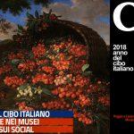 POGGIO A CAIANO (PO). VILLA MEDICEA MUSEO DELLA NATURA MORTA Bartolomeo Bimbi CILIEGIE 1699