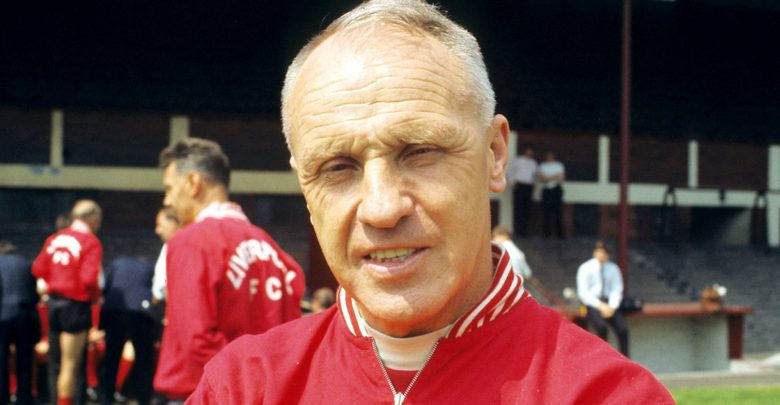 Bill Shankly all'Anfield Road