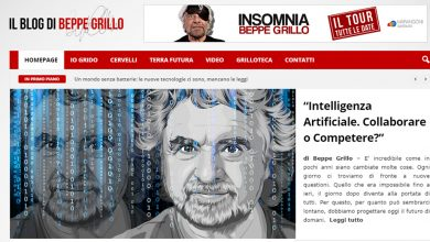 "Photo of Grillo torna alle origini: nuovo blog e un ""vaffa"" alla politica"