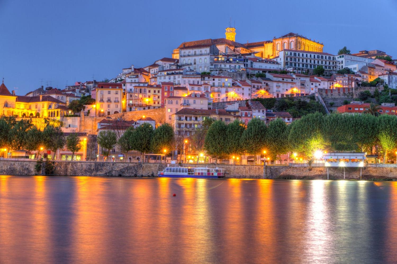 Coimbra di notte