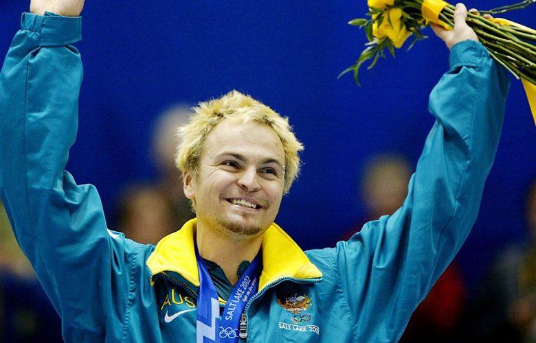 Steven Bradbury, medaglia d'oro di Short-Track ai giochi olimpici invernali del 2002