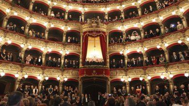 Mattarella alla prima del Teatro Bellini di Catania (Foto di Giacomo Orlando)