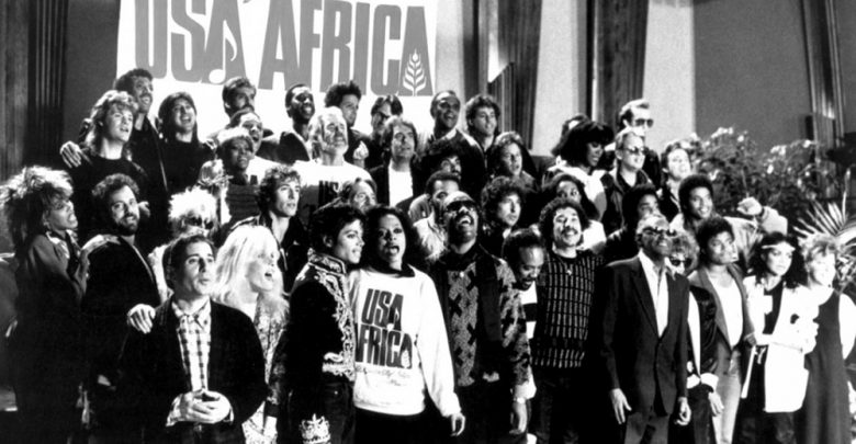 "Photo of ""We are the World"": l'inno della solidarietà «ancora qui nel 2018»"