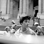 Woman at the NY Public Library still - Photo Credit: Vivian Maier/Maloof Collection