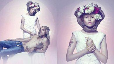 Maria e Gesù nuovi testimonial della pubblicità