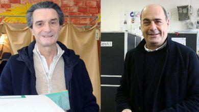 Attilio Fontana / Nicola Zingaretti