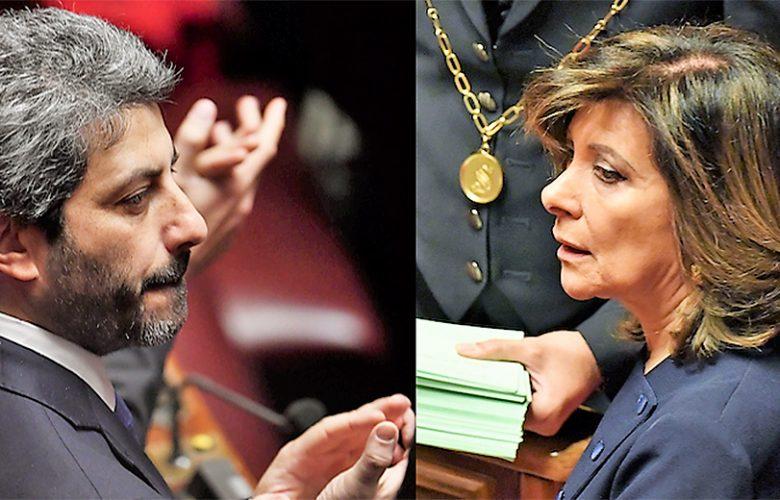 Roberto Fico e Maria Elisabetta Alberti Casellati
