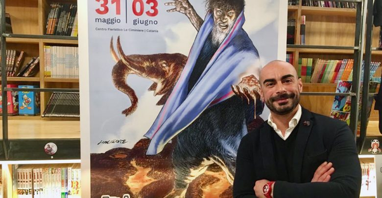 Photo of Etna Comics, l'Eliodoro di Tanino Liberatore simbolo dell'edizione 2018