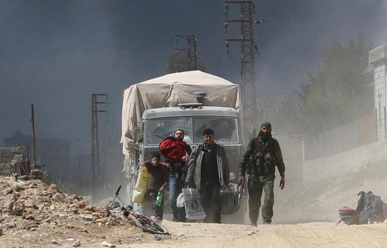 La città curda Afrin