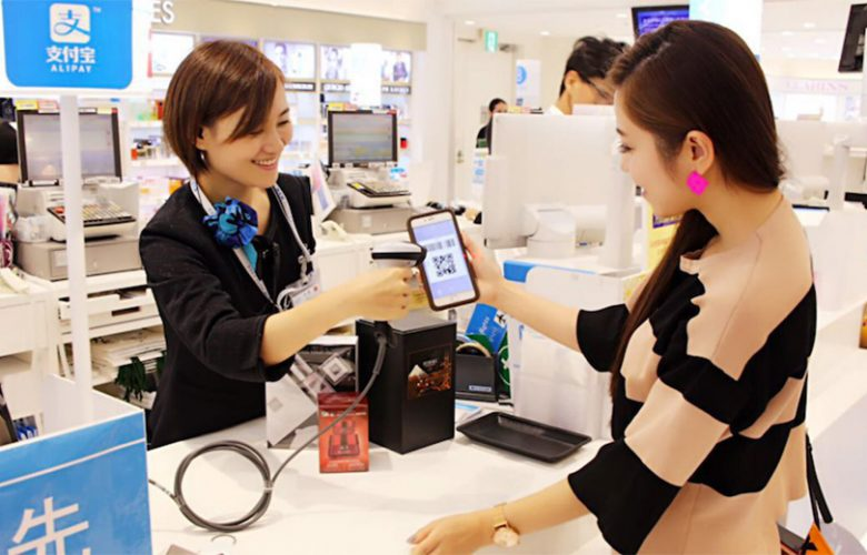 Mobile payment Cina