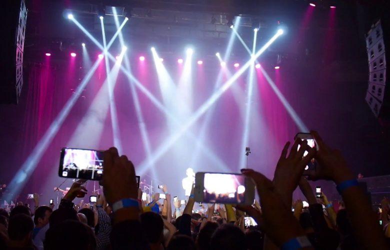 Smartphone e concerti