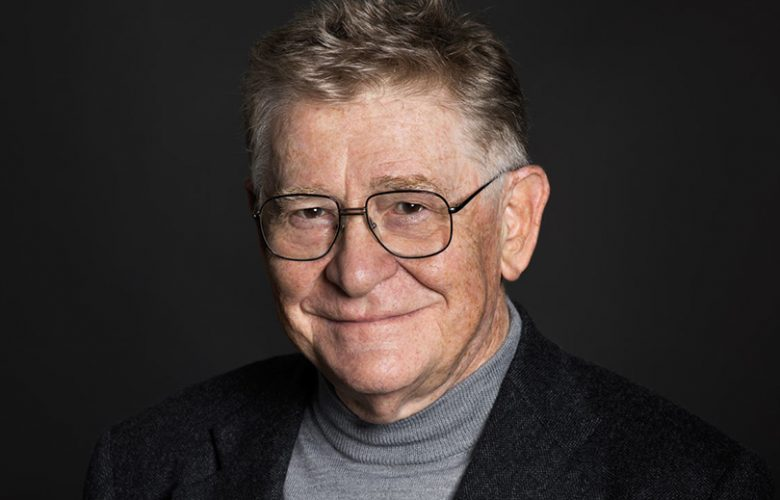 Il regista Ermanno Olmi
