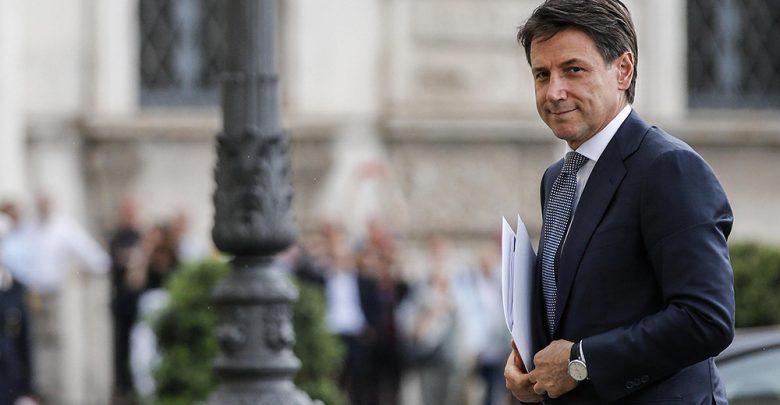 Giuseppe Conte (Fabio Frustaci/ANSA via AP)