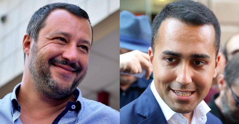 Governo Lega-M5s Salvini Di Maio