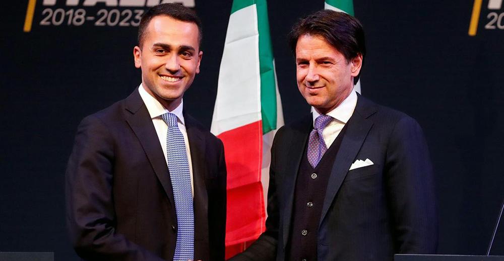 Luigi Di Maio e Giuseppe Conte