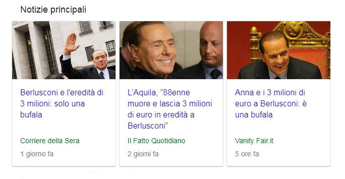 Photo of Silvio Berlusconi e l'eredità fantasma, la fake news che ha ingannato l'Italia