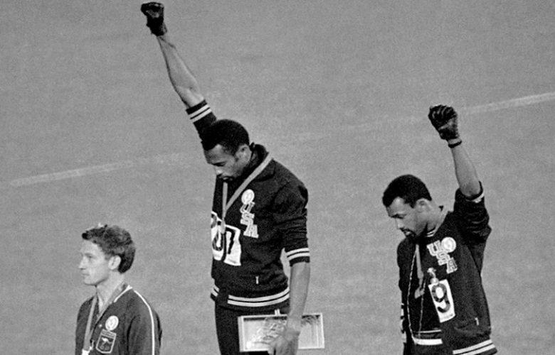 Tommie Smith e John Carlos Olimpiade Messico 68