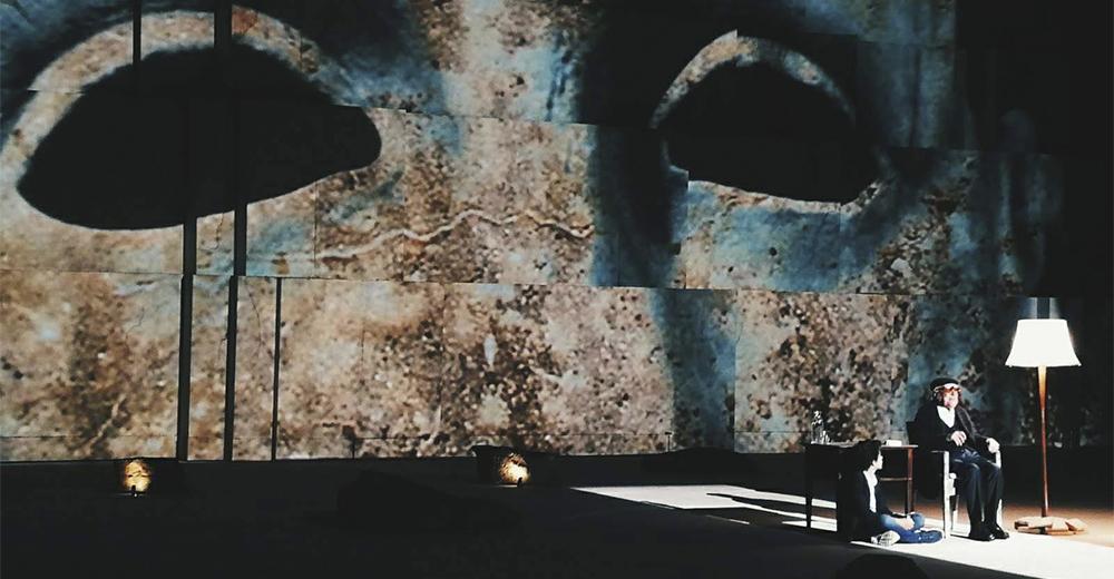 Camilleri-Tiresia al Teatro greco di Siracusa