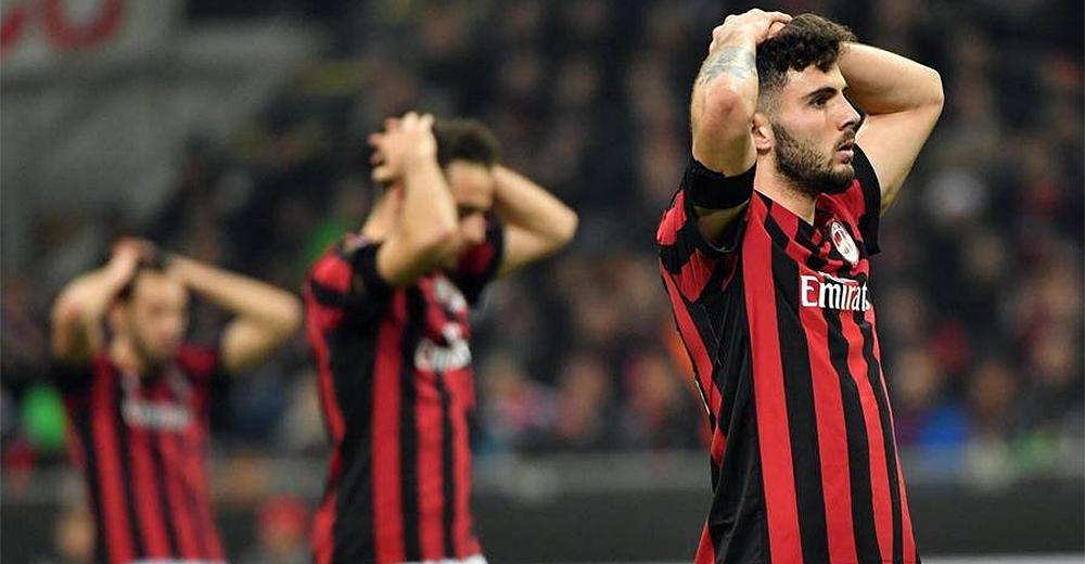 Caos Milan escluso Europa League