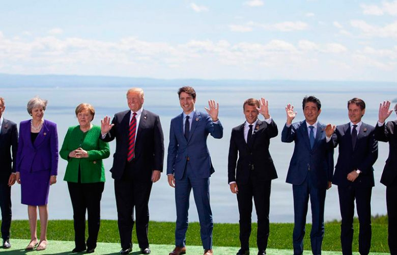 G7 Canada 2018 (Photo AFP / GEOFF ROBINS)