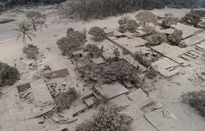 Guatemala, la devastante eruzione del Volcàn de Fuego