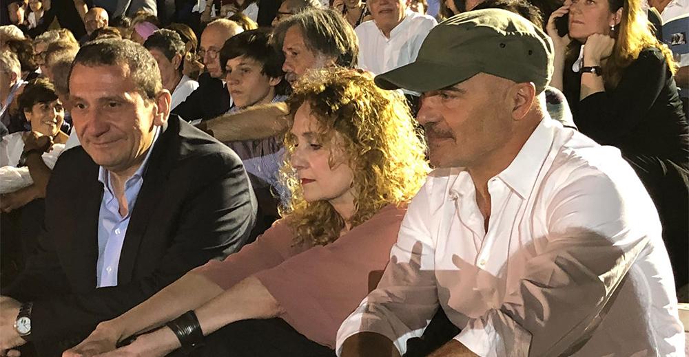 Luca Zingaretti al teatro greco di Siracusa per tiresia di Camilleri