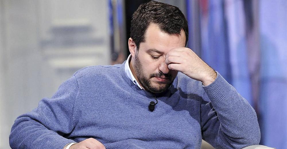 Matteo Salvini (Foto Fabio Cimaglia / LaPresse)