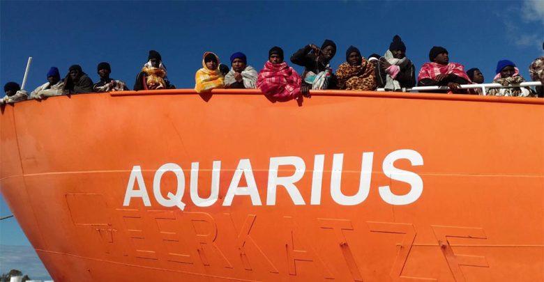 Migranti nave Aquarius