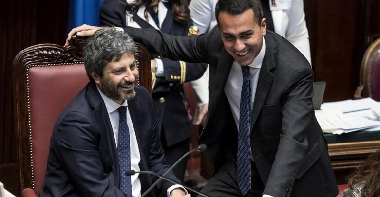 Roberto Fico Luigi Di Maio