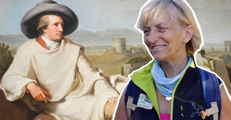 Sulle orme di Goethe con Vienna Cammarota