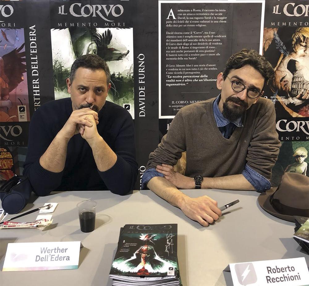 Werther Dell'Edera e Roberto Recchioni
