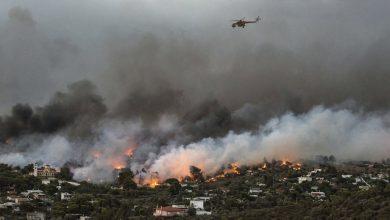 Photo of Inferno di fuoco in Grecia: si temono centinaia di vittime