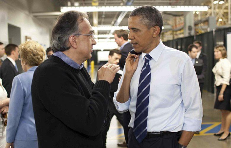 Obama con Marchionne
