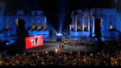 Serata premiazioni Taormina Film Fest 2018
