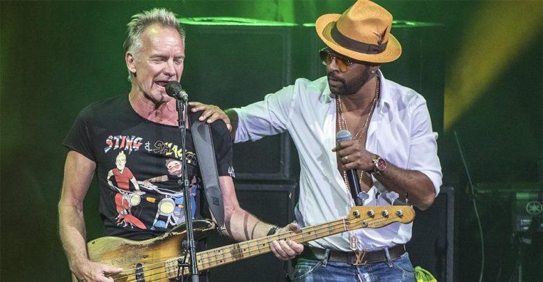 Sting, Shaggy e il reggae